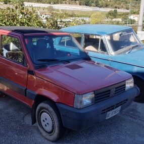 Fiat Panda 4X4 raro doppio tetto apribile